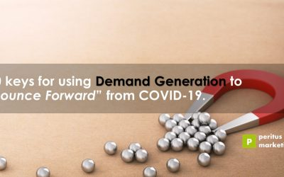 """10 keys for using Demand Generation to """"Bounce Forward"""" from COVID-19"""
