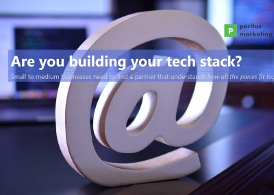 Are you building your tech stack?