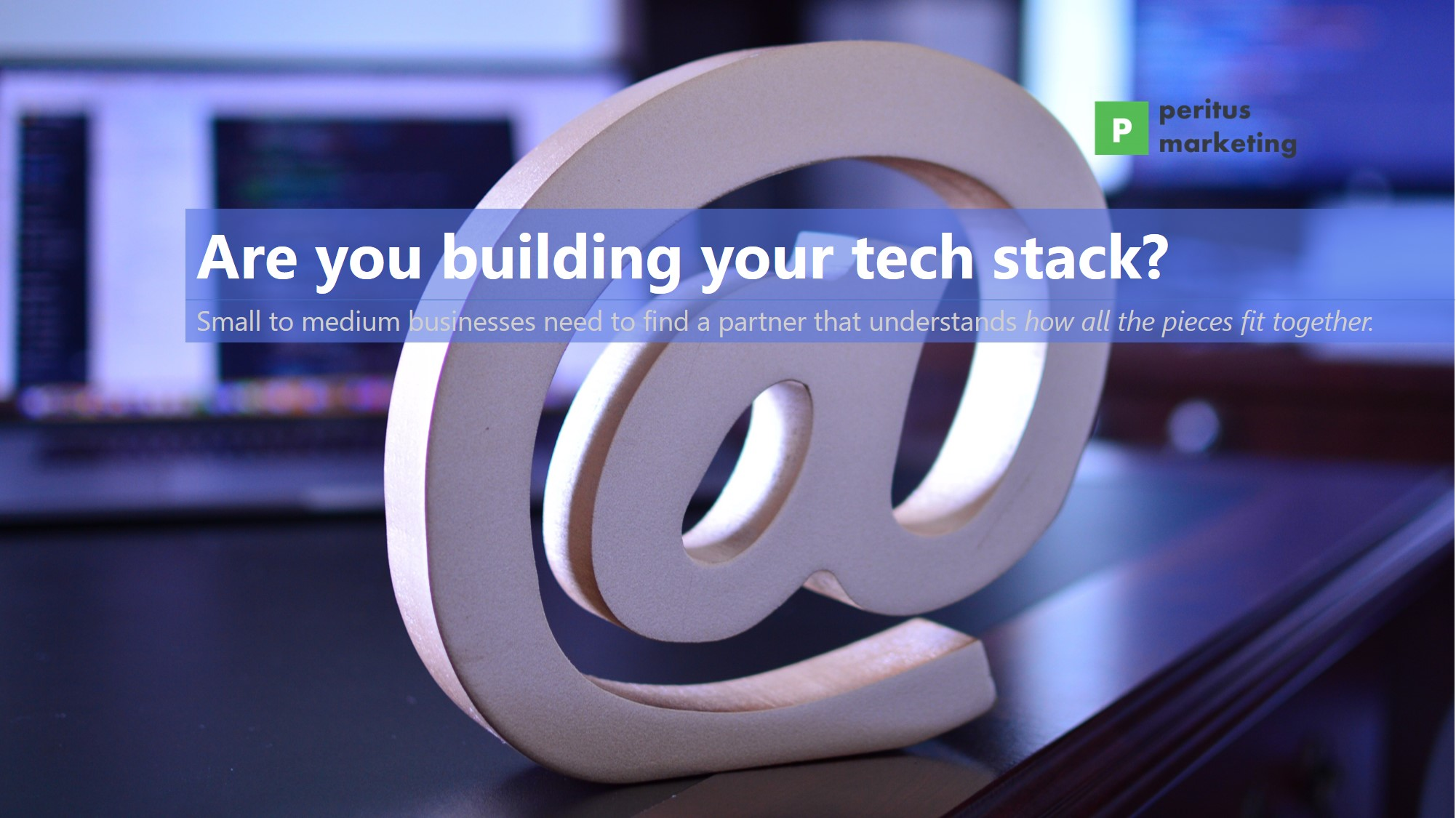 Are you building your tech stack banner